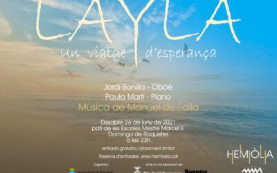"""Concert de música clàssica """"Layla"""" a Roquetes"""