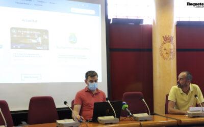 """L'Ajuntament de Roquetes presenta el nou web """"roquetes.cat"""""""
