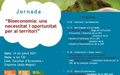 Jornada Bioeconomia el 14/07/2021