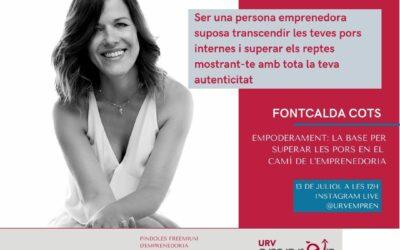 URV Emprèn Talks amb Fontcalda Cots