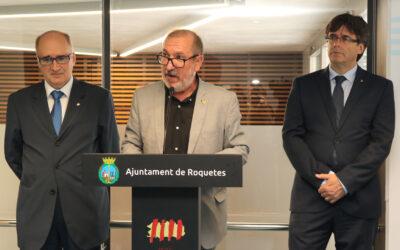 Paraules de l'alcalde en la inauguració del nou Centre de Salut a Roquetes