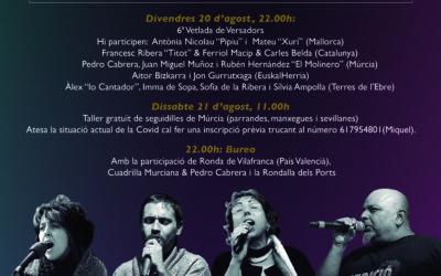 6è Ebrefolk a Roquetes – 20 i 21 d'agost
