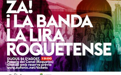 Concert Za! i la Banda de la Lira Roquetense