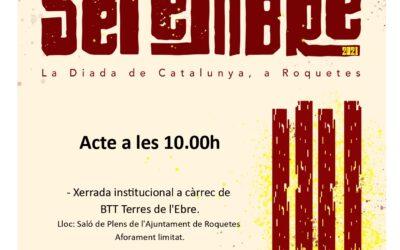 La Diada de Catalunya, a Roquetes