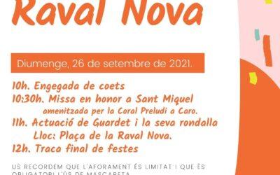Sant Miquelada Raval Nova 2021